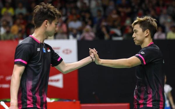 Hasil Drawing Malaysia Open 2021: Kevin/Marcus Jumpa Lawan Berat