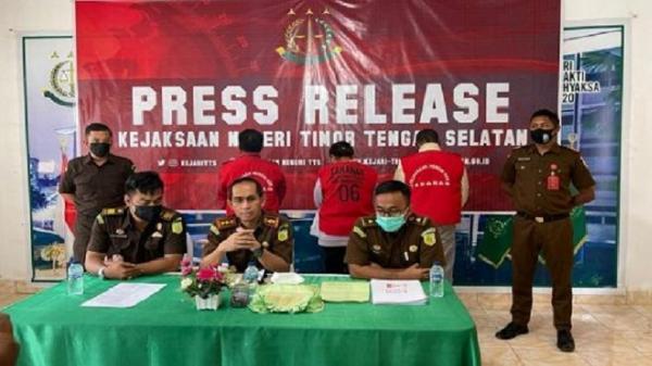 Korupsi Dana Desa Rp696 Juta, Kades dan 2 Staf Dijebloskan ke Penjara