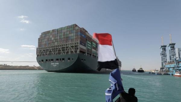 Mesir Sita Kapal Ever Given yang Sumbat Terusan Suez sampai Kerugian Rp13 Triliun Dibayar