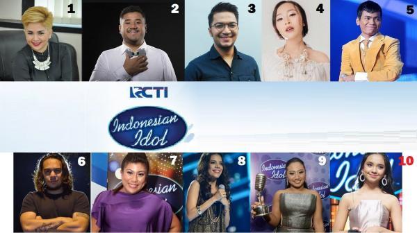 10 Pemenang Indonesian Idol dari 2004 hingga 2019