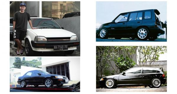 Koleksi 4 Mobil Gaul Gading Marten Tahun 90-an, Bikin Ngiler Penyuka Otomotif