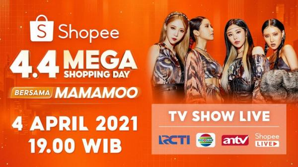 Pecah! Al dan Andin hingga Atta-Aurel Ramaikan Shopee 4.4 Mega Shopping Day TV Show Malam Ini