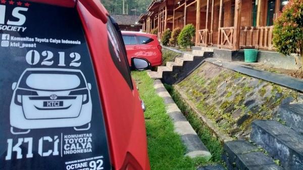 Gelar Jambore di saat Covid-19, Komunitas Toyota Calya Batasi Peserta 50 Mobil