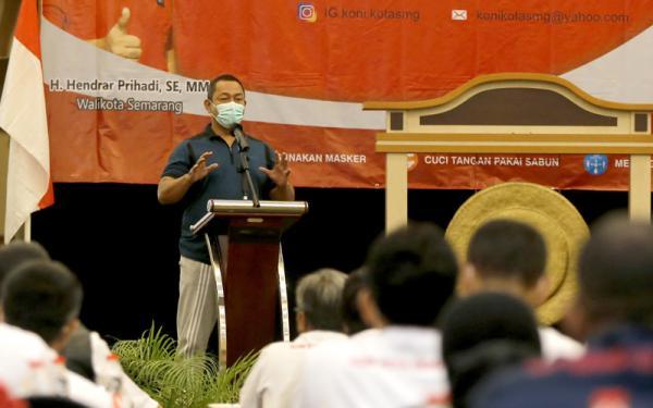 Wali Kota Hendi Ingin Semarang Pertahankan Gelar Juara Porprov 2022