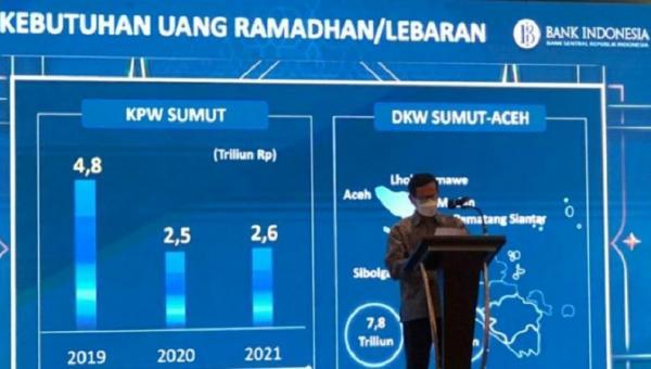 Bank Indonesia Prediksi Kebutuhan Uang di Sumut selama Ramadan Rp2,6 Triliun