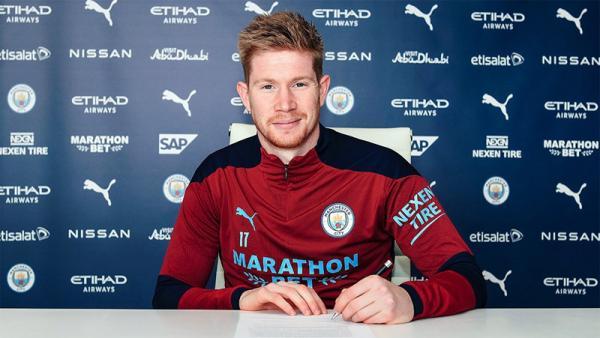 Manchester City Resmi Perpanjang Kontrak Kevin De Bruyne hingga 2025