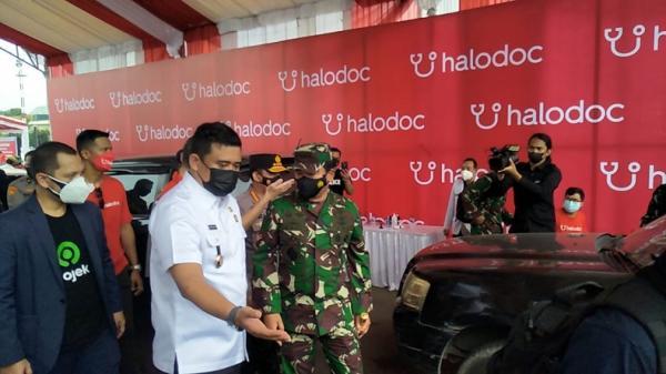 Pemko Medan Siapkan 60.000 Dosis untuk Vaksinasi Drive Thru di Lanud Soewando