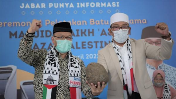 Gubernur Jabar Ridwan Kamil Jadi Arsitek Pembangunan Masjid di Palestina