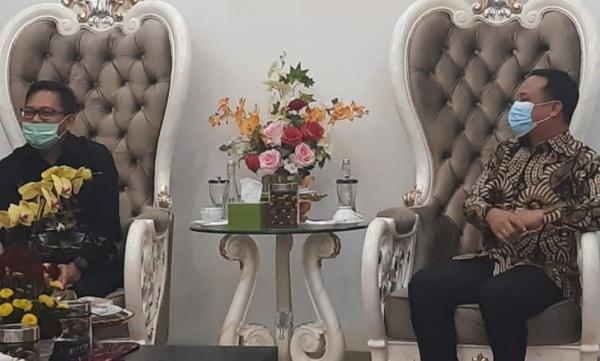 Jalin Kerja Sama, Manajemen MNC Portal Bertemu Plt Gubernur Sulsel
