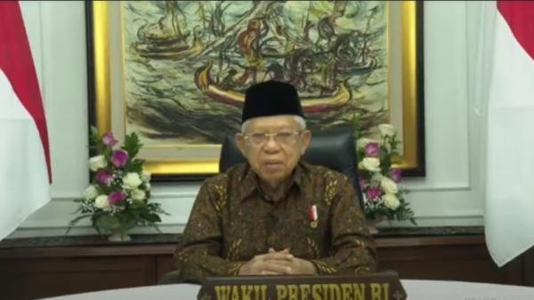 Wapres Ma'ruf Amin Berharap Muslim Center of Excellence Dukung Industri Halal Nasional