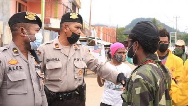 Demo Tolak Freeport di Jayapura Dibubarkan, Situasi Daerah Tetap Kondusif