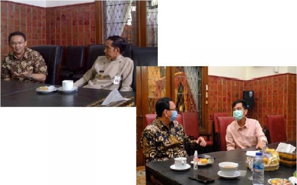 Cari Perbedaan Foto Ahok Ketemu Jokowi Vs Gibran, Netizen: Kursi Cuma Beda Warna