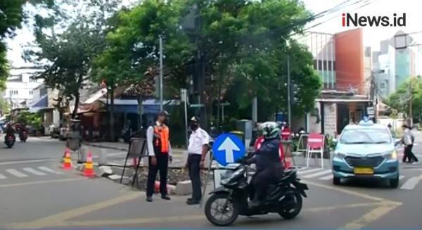 Video Rekayasa Lalu Lintas di Sekitar Stasiun Gondangdia Jakarta Pusat