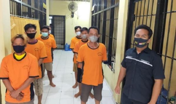 Pakai Surat Antigen Palsu, 7 Orang di Pelabuhan Tanjung Kalian Ditangkap Polisi