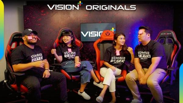 Vision+ Originals Sumber Rezeki: Siapa yang Paling Jago E-Sports di Antara Para Pemain?