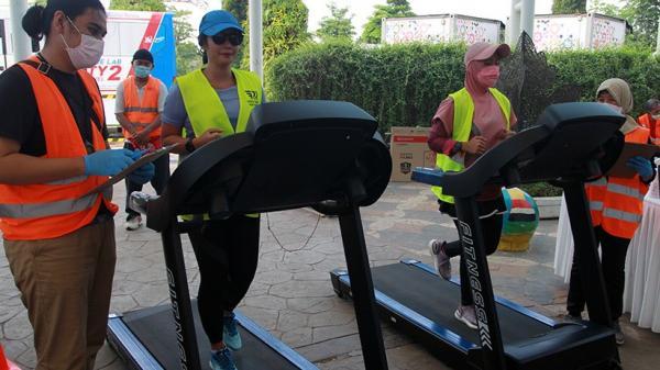 Kompetisi Balap Sepeda dan Lari Secara Virtual di Bandara Soetta