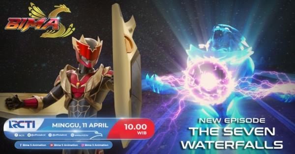 Bima S Episode Baru The seven Waterfalls! Minggu 11 April 2021 Pukul 10.00 WIB di RCTI