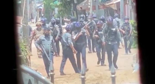 Pasukan Myanmar Dilaporkan Bunuh 82 Demonstran Anti-Kudeta, Saksi Sebut Ada Granat