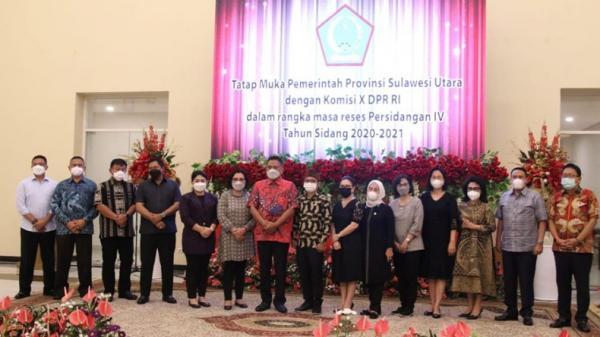 Optimalkan Sektor Pendidikan di Sulut, Gubernur Olly Minta Dukungan Komisi X DPR