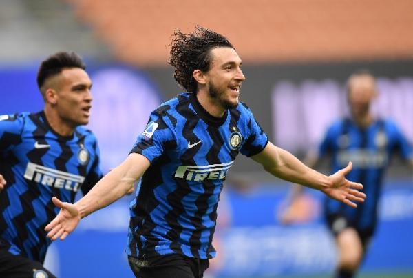 Gol Tunggal Matteo Darmian Bawa Inter Milan Menang Tipis 1-0 atas Cagliari