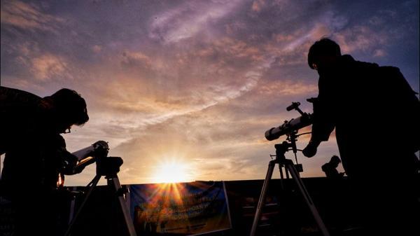 Hilal Tak Terlihat, Pengamatan di Observatorium Bosscha Terhalang Mendung