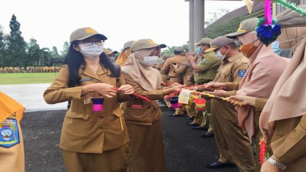 Jelang Ramadan, ASN Bangka Tengah Terima 1.000 Telur