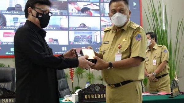 Menpan RB Kunjungi Sulut, Gubernur Olly Lobi Penambahan Nakes dan Guru