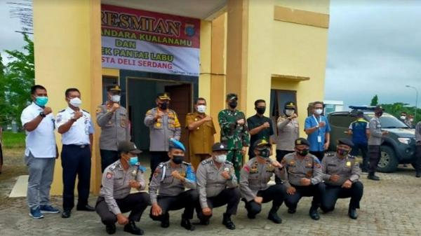 Resmi, Bandara Kualanamu Kini Punya Kantor Polsek Mandiri