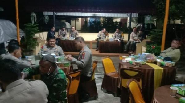 Hari Pertama Puasa, TNI-Polri dan Masyarakat Sahur Bersama di Batubara