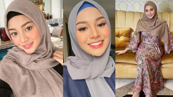4 Pesona Aurel Hermansyah Berhijab, Bikin Atta Halilintar Tak Berkedip