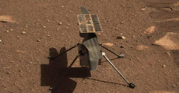 Tim Ingenuity NASA Punya Solusi Software untuk Perbaiki Helikopter Mars