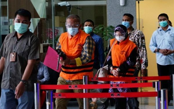 Diduga Terima Suap, Anggota DPRD Jabar dan Eks Legislator Dijebloskan ke Rutan KPK