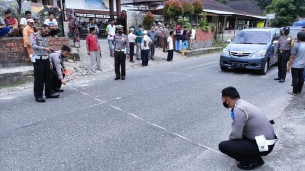 Siswa SD Tewas Ditabrak Bus Gumarang Jaya di Tanah Datar Bertambah Jadi 4 Orang