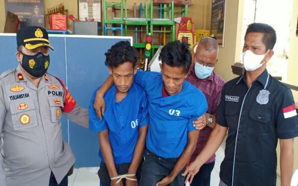 Polisi Tembak Pencuri Kabel Lampu Jalan di Palembang