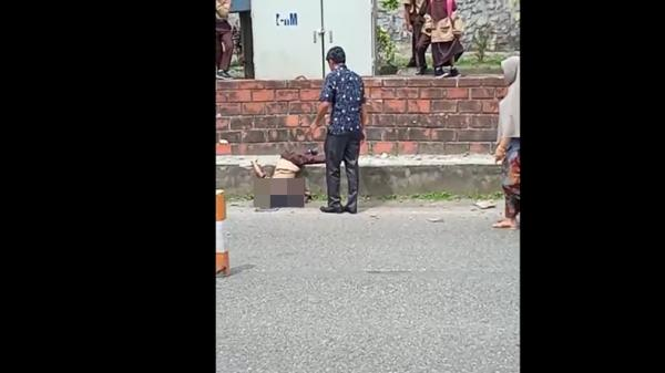 3 Pelajar di Tanah Datar Tewas Disambar Bus Gumarang Jaya