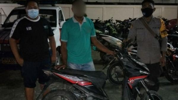 Beli Motor Curian Rp2,5 Juta di Medsos, Mahasiswa di Jayapura Ditangkap Polisi
