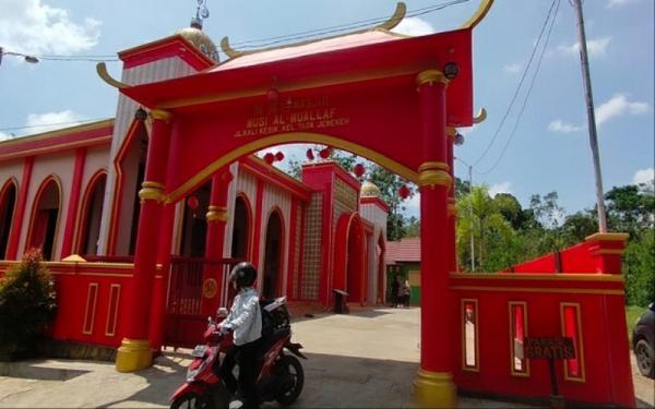 Masjid Merah di Lubuklinggau, Cinta China Mualaf di Tanah Musi