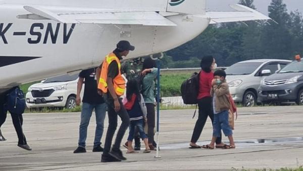 27 Warga Dievakuasi dari Beoga Puncak ke Timika