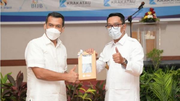 Ridwan Kamil: Sinergi BUMD Jabar-Krakatau Steel Dorong Pemulihan Ekonomi
