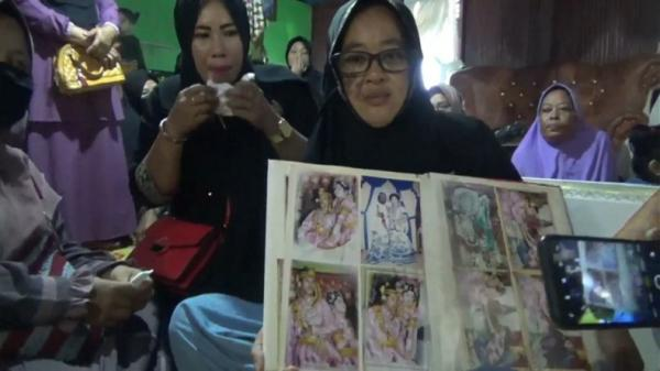 Jenazah Tukang Ojek Ditembak KKB Dimakamkan di Barru, Istri Pingsan Lihat Jasad Suami