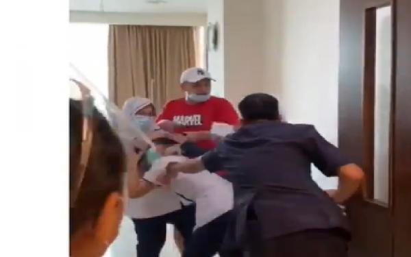 Penganiayaan Perawat di Palembang Dipicu Cerita Istri Soal Pelepasan Selang Infus Pasien
