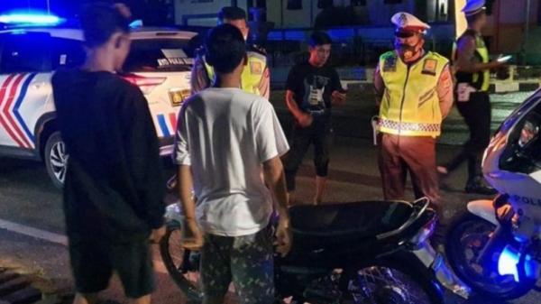 Gelar Razia Sepeda Motor, Polisi Amankan 15 Knalpot Racing di Aceh Barat