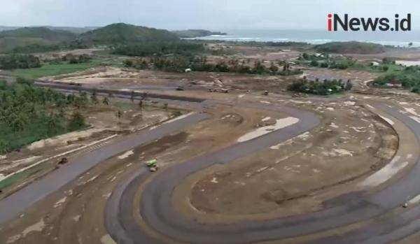 Video Balap MotoGP Ditunda, Persiapan Sirkuit Mandalika Terus Berjalan