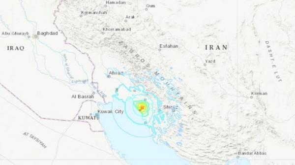 Gempa Bermagnitudo 5,9 Guncang Iran, Pembangkit Listrik Tenaga Nuklir Aman