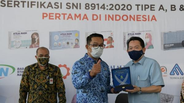 Ridwan Kamil Dorong Industri Terus Berinovasi dan Beradaptasi di tengah Pandemi