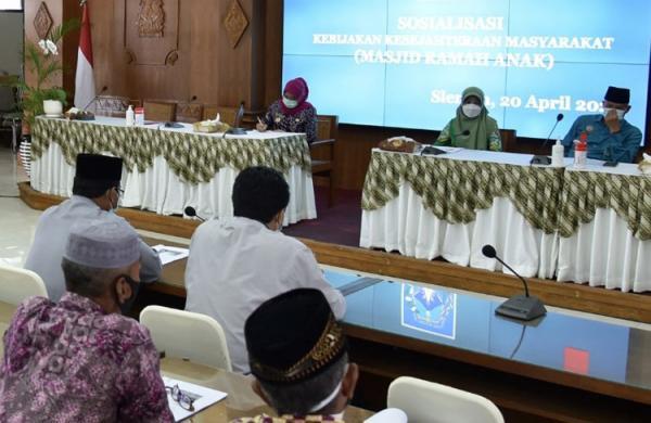 Dukung Kabupaten Ramah Anak, Pemkab Sleman Kembangkan Masjid Ramah Anak