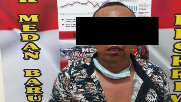 Pria di Medan Ditangkap usai Gagal Curi Motor di Kantor Dinas Kesehatan