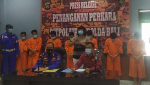 Polda Bali Ungkap Pencurian 800 Liter BBM Solar, Pelakunya 4 ABK