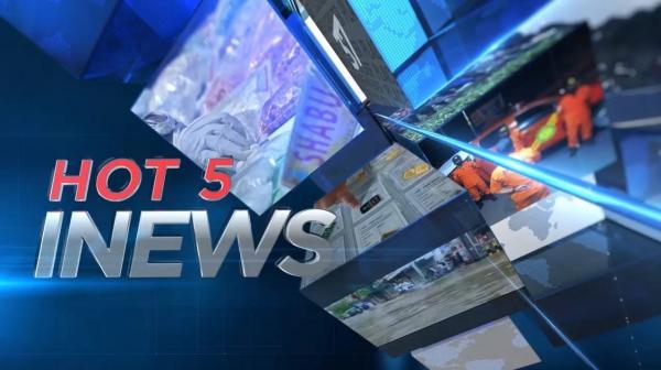 HOT 5 iNews, Ibu dan Anak Mengamuk di Kantor Polisi dan Suami Aniaya Istri Gara-Gara BLT