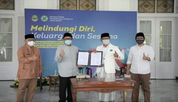 Ridwan Kamil Teken Kesepakatan Kerja Sama Pengembangan Apartemen Ayam